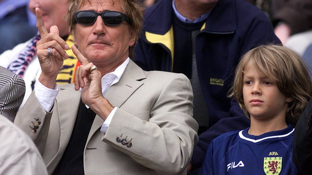 UK: Rod Stewart's Son Liam Named In GB Provisional Squad