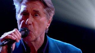 BBC News - Bryan Ferry: I hate watching myself on TV