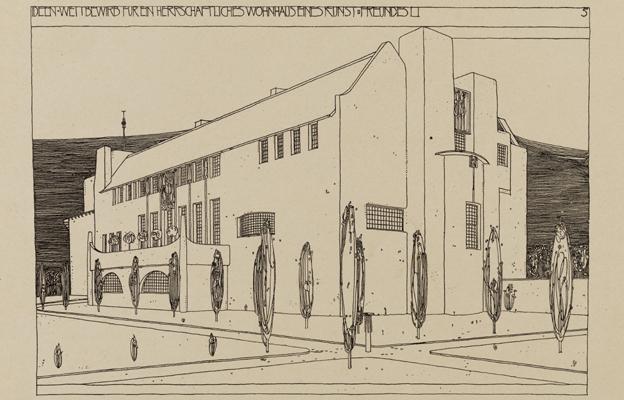 "Mackintosh design for ""House for an Art Lover"""