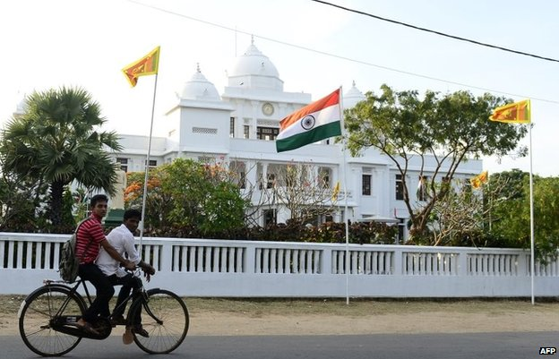 Public library in Jaffna, March 13