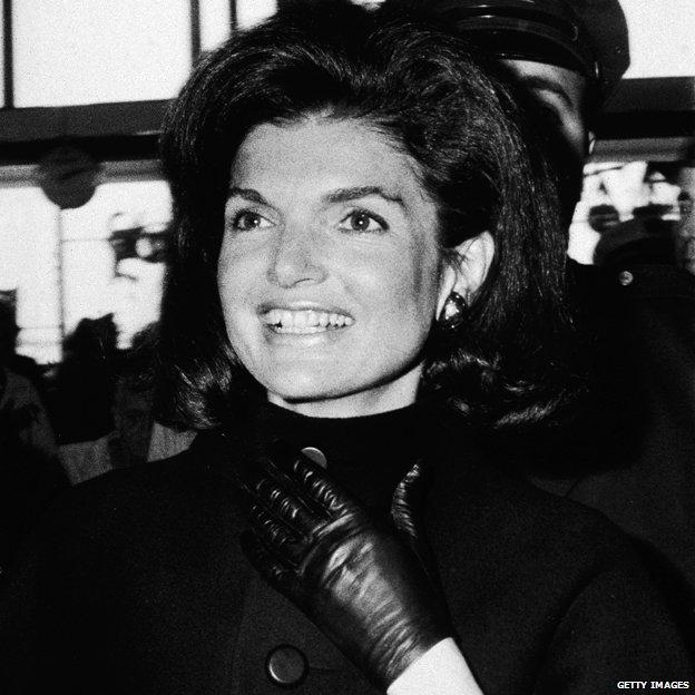 Jackie Kennedy in 1967