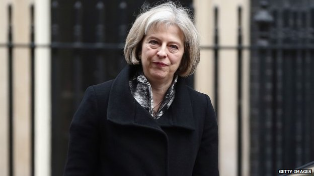 Child sex abuse is 'woven into British society' - Theresa May