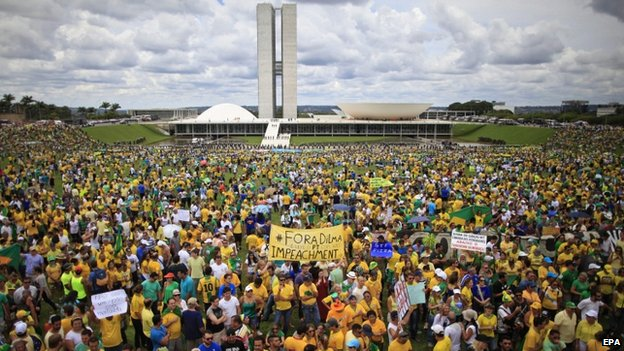 Protest in Brasilia