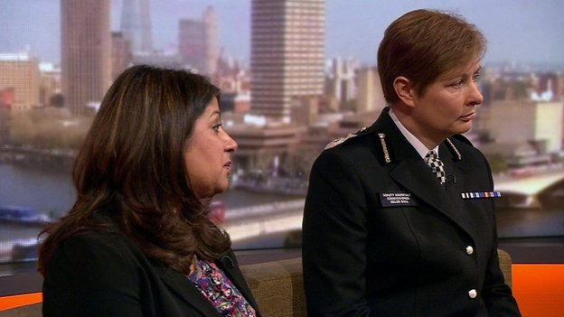 Kalsoom Bashir and Helen Ball on Andrew Marr, 1 March 2015
