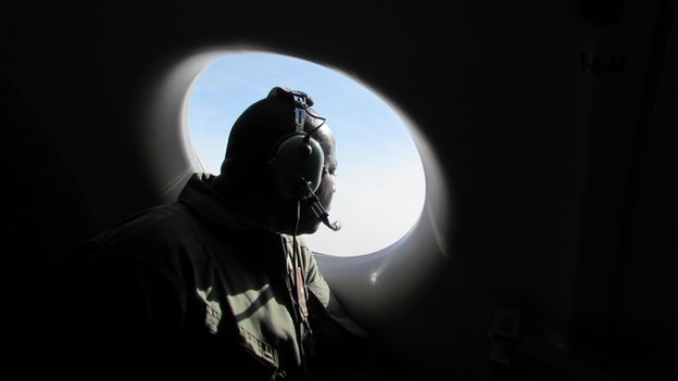 Nigerian air force crew