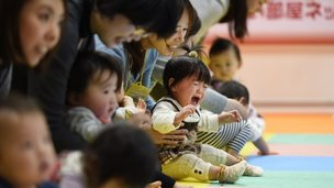 Japanese mums and their toddlers