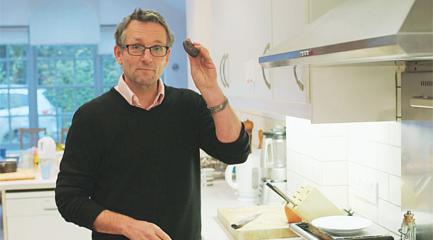 Mosley with his blood sausage