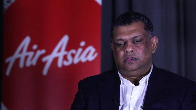 Tony Fernandez, CEO of AirAsia