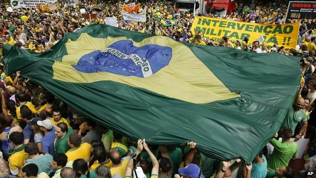 Damage control: Brazil's government reacts to protests