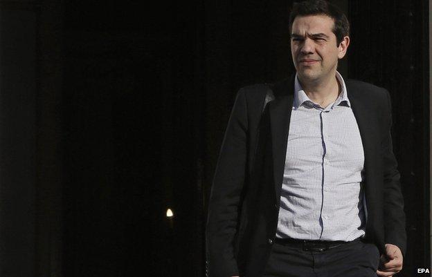 Alexis Tsipras, Greek PM (15 March)