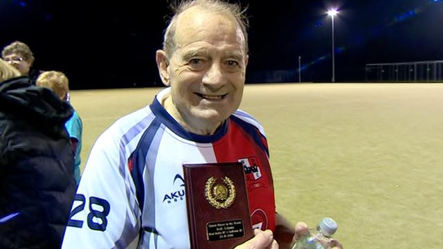 Robert Adams: Oldest hockey player