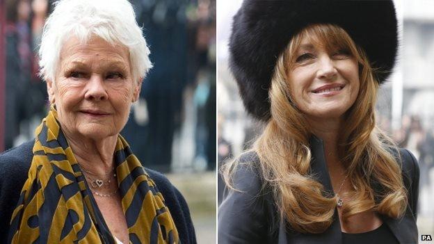 Dame Judi Dench and Jane Seymour
