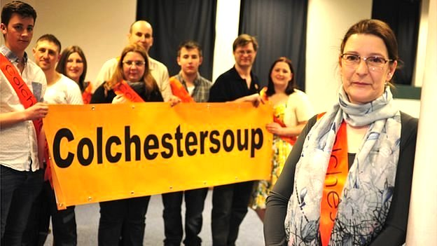 Karen Taylor of Colchester Soup