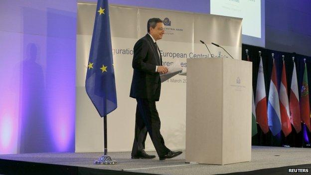 Mario Draghi (18 March)
