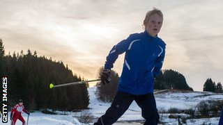 Cross country skiing appeals to all ages