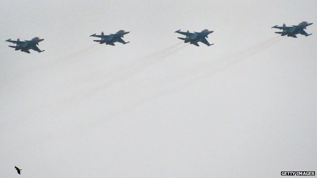 File pic Russian Su-34 fighters