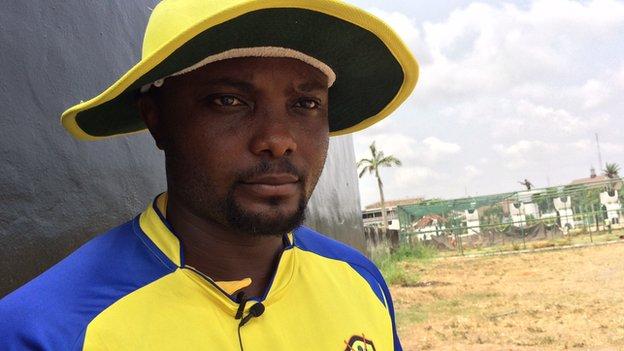 Endurance Ofem, former Nigeria cricket captain