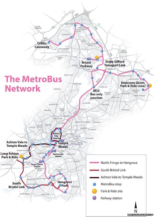 Print Page Bristol Connections Metro Bus Rapid Transit Pte
