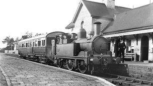 Arley Station, about 1932 (image: Kidderminster Railway Museum Archive)