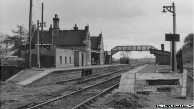 Bridgnorth Station in 1966