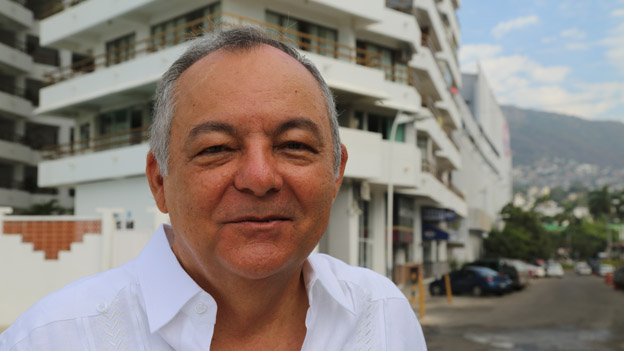Luis Urunuela Fey in March 2015