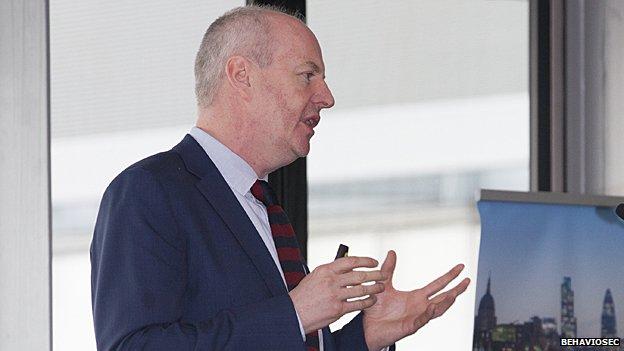 Dr Neil Costigan, directeur général de BehavioSec basée à Stockholm