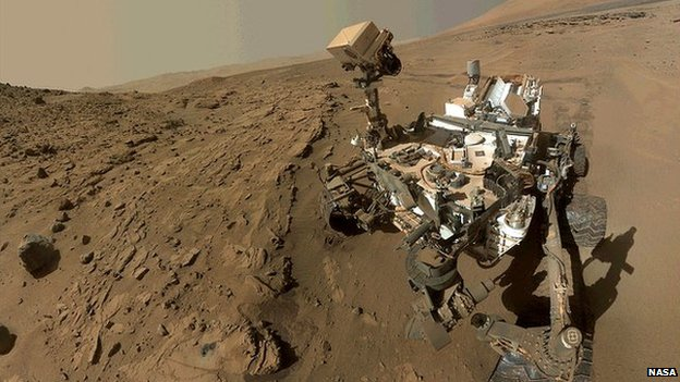 Evidence of liquid water found on Mars
