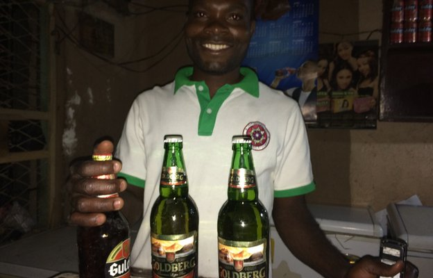 Victor Akpan, bar manager in Kano