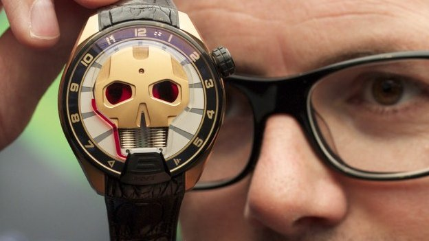 HYT skull watch