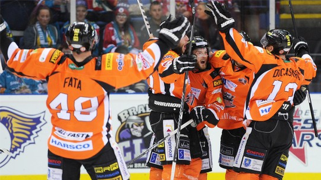 UK: Elite League - Sheffield Steelers Champions After Cardiff Devils Win