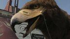 Eagle puppet
