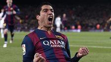 Luis Suarez - Barcelona v Real Madrid