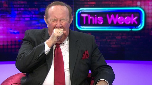 Andrew Neil on This Week set