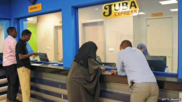 Somali money transfer office