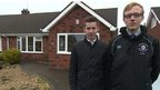 First-time buyers, Oliver and Adam