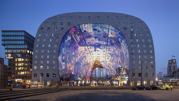 Markthal, Rotterdam - finalist in Designs of the Year 2015