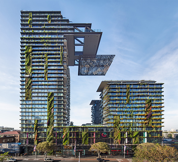 One Central Park, Sydney - finalist in Designs of the Year 2015