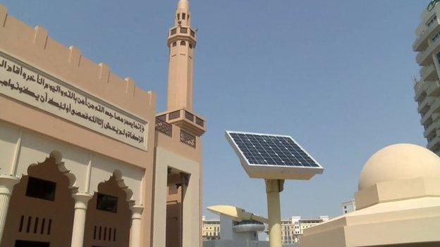 Dubai's eco-friendly mosque