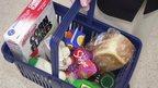 A shopping basket