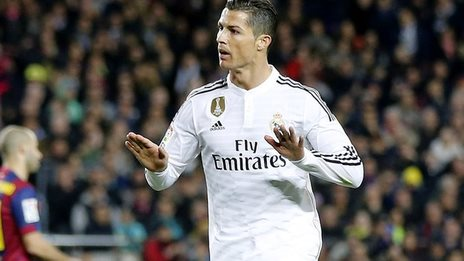 BBC Sport - Cristiano Ronaldo could be fined for 'calm ...