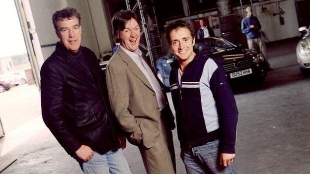 Top Gear 2003 promotional shot