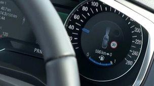 Ford speedometer