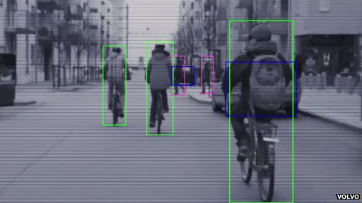 Volvo bicycle safety system