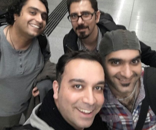 Group of Iranian reporters