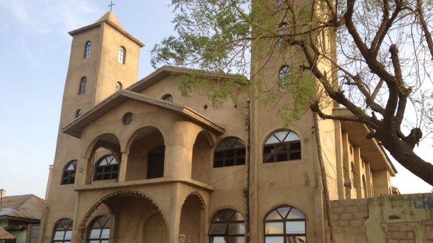 A church in Kano, Nigeria
