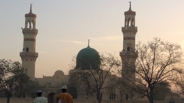 Kano's Central Mosque in Nigeria
