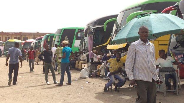 Sabon Gari bus station, Kano, Nigeria