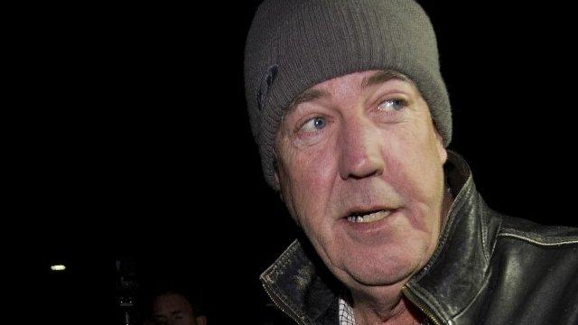 The Top Gear presenter Jeremy Clarkson