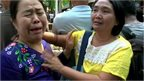 Student's mothers 'desperate' outside Myanmar court
