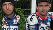 Guy Martin and William Dunlop